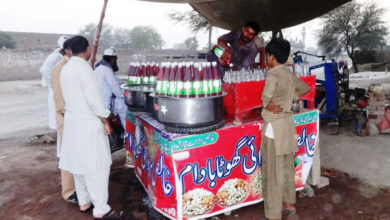Photo of عیدالاضحیٰ کے موقع پر شہرسمیت مضافاتی علاقوں میں کیمیکل ملے مشروبات کی فروخت کا دھندہ عروج پر