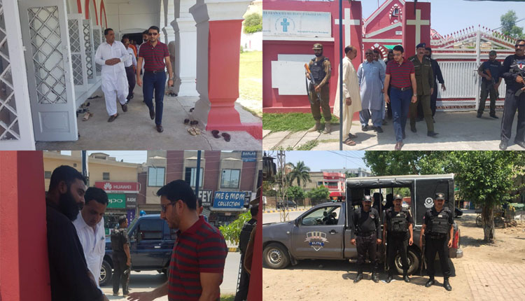 Photo of ضلع جہلم کی تمام عبادت گاہوں کی سیکورٹی کو ہائی الرٹ کر دیا گیا ہے۔ ڈی پی او سید حماد عابد