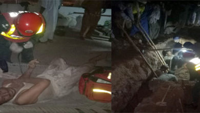 Photo of آئی سی آئی سوڈا ایش کھیوڑہ کی واٹر سپلائی کی لائن مرمت کرتے ہوئے 2 مزدور گر کر زخمی