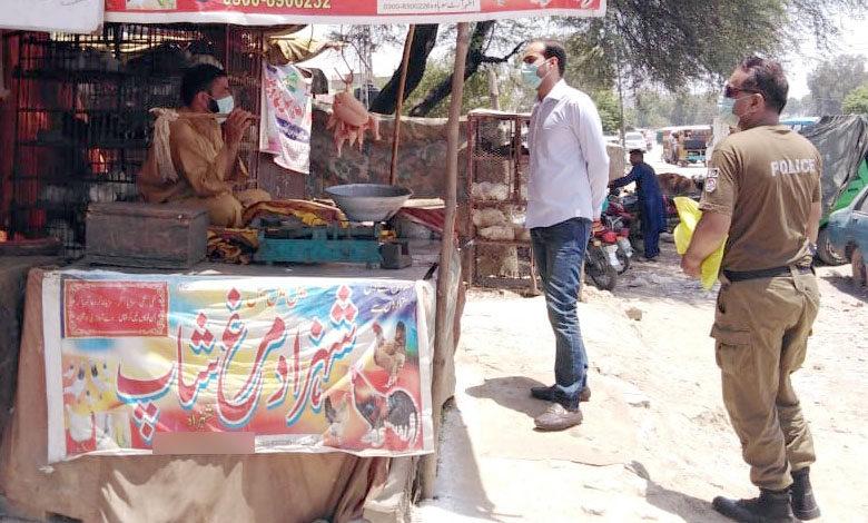 Photo of اسسٹنٹ کمشنر کا سوہاوہ بازار کا اچانک دورہ، چکن کے تمام ہول سیلر سپلائر کو دفتر طلب کر لیا