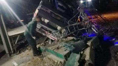 Photo of جہلم میں تیز رفتار ہائی ایس الٹ گئی، ایک مسافر جاں بحق، 8 مسافر زخمی