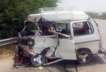Photo of پنڈدادنخان کے نواحی علاقہ میں کیری ڈبہ اور سکیورٹی وین میں تصادم، 4 سالہ بچہ اور خاتون جاں بحق