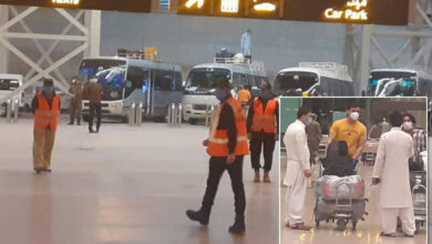 Photo of قطر سے 251 پاکستانی وطن واپس پہنچ گئے، 202 مسافر ضلع جہلم کے قرنطینہ مراکز منتقل