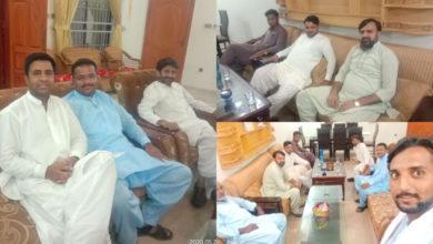 Photo of سفیرحمزہ طاہر صدرجے آئی یوتھ ضلع جہلم کا ڈومیلی، پدھری اور بڑاگواہ کا دورہ
