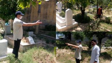 Photo of ڈپٹی کمشنرجہلم کا دینہ کے قبرستانوں کا دورہ، صفائی ستھرائی کے انتظامات کا جائزہ لیا