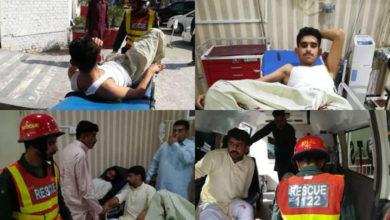 Photo of جہلم میں عید کی نماز کے بعد دو گروپوں میں فائرنگ کا تبادلہ، 6 افراد شدید زخمی