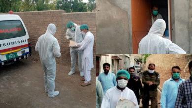 Photo of ضلع جہلم میں مزید 4 افراد میں کورونا وائرس کی تصدیق، تعداد 221 ہو گئی