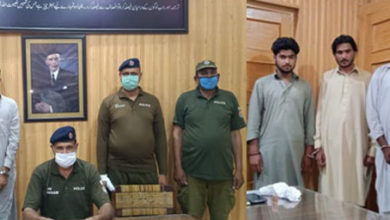 Photo of دینہ پولیس ان ایکشن، اقدام قتل کے 3 ملزمان اور مفرور اشتہاری گرفتار