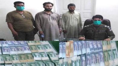 Photo of جہلم پولیس کی بڑی کارروائی، بین الاضلاعی نظام گینگ کے 3 اراکین گرفتار، لاکھوں روپے برآمد