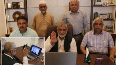 Photo of دی انٹرنیشنل ایسوسی ایشن آف لائنز کلب کے نو منتخب ڈسٹرکٹ گورنر 305N2 پاکستان نے حلف لے لیا