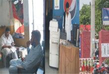 Photo of جہلم میں ٹریفک پولیس دفتر کے اندر ٹاؤٹوں کا راج، ہر کام کی فیس مقرر