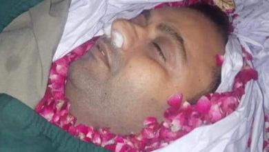 Photo of ٹریفک حادثہ میں جاں بحق ہونے والے پنڈدادنخان کے نوجوان عمران کو سپرد خاک کر دیا گیا