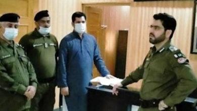 Photo of ڈسٹرکٹ پولیس آفیسر جہلم شاکر حسین داوڑ کا اچانک ماڈل پولیس سٹیشن دینہ کا دورہ