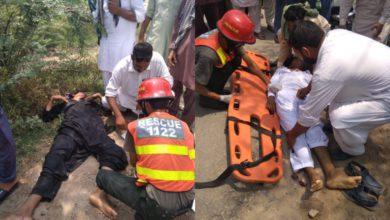 Photo of پنڈدادنخان میں جہلم روڈ پر ٹریفک حادثہ، 21 سالہ نوجوان جاں بحق، 2 افراد زخمی