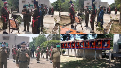 Photo of جہلم میں پولیس اہلکاروں کی لازوال قربانیوں پر 'یوم شہداء پولیس' منایاگیا