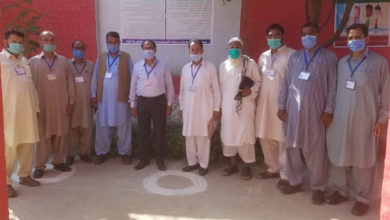 Photo of سی ای او ایجوکیشن جہلم چوہدری معروف حسین کا بڑاگواہ ہائی سکول کا اچانک دورہ