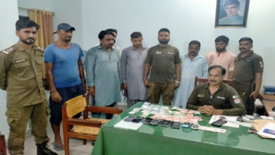 Photo of جہلم پولیس نے جوئے کی بازی الٹ دی، 6 قمار باز گرفتار