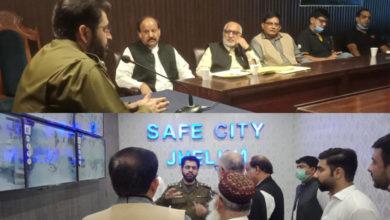 Photo of جہلم شہر میں کیمروں کی تنصیب کے پروجیکٹ پر 48 لاکھ خرچ کیے جا چکے ہیں۔ ڈی پی او شاکر حسین