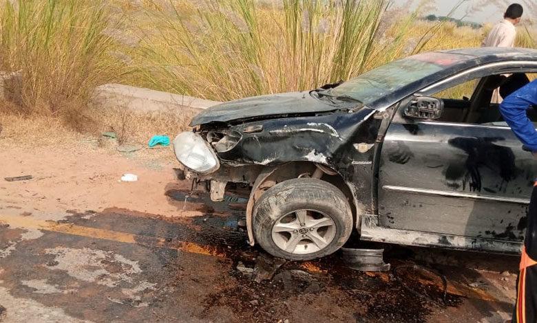 Photo of ڈومیلی کے نواحی علاقہ بھوگی چک میں تیز رفتار کار حادثہ، تمام مسافر محفوظ رہے، کار مکمل تباہ