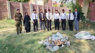 Photo of جوڈیشل کمپلیکس سوہاوہ میں لاکھوں روپے مالیت کی منشیات تلف کر دی گئی