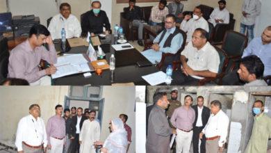 Photo of محکمہ صحت کی جانب سے سٹیٹ آف دی آرٹ سہولیات میسر کی جا رہی ہیں۔ ڈپٹی کمشنر جہلم